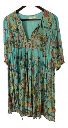 Spell & The Gypsy Collective Blue Cotton Dress for Women