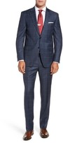 Peter Millar Men's Flynn Classic Fit Windowpane Wool Suit