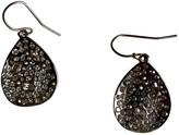 Alexis Bittar Silver Crystal Earrings