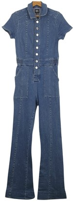 Urban Outfitters Turquoise Denim - Jeans Jumpsuit for Women