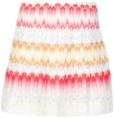Missoni knitted mini skirt