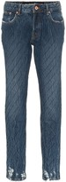 Filles a papa crystal-embellished slim jeans