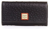 Dooney & Bourke Ostrich Collection Daphne Clutch
