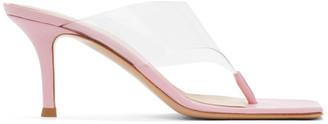 Gianvito Rossi Pink Lotus 70 Heeled Sandal