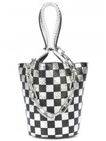 Alexander Wang Roxy mini bucket checkered bag