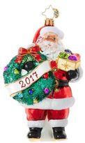 Christopher Radko Embrace the Year Santa Figurine