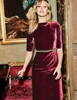 Boden Velvet Martha Dress
