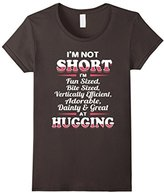 Men's I'M NOT SHORT I'M FUN SIZED...Funny Cute T-Shirt Large