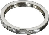 Harry Winston platinum Traffic Accent Band Ring US Size 8.5