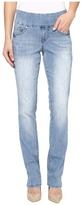 Jag Jeans Peri Pull-On Straight Comfort Denim in Blue Issue
