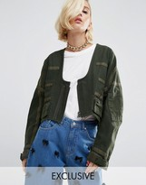 Wah London X Asos Parachute Jacket