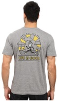 Life is Good Long May You Run Pocket Crusher Tee