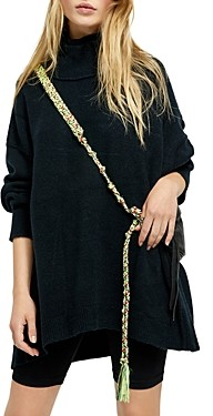 Free People Afterglow Oversized Mock Neck Sweater
