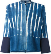 Forte Forte raw printed denim jacket - women - Cotton - 1
