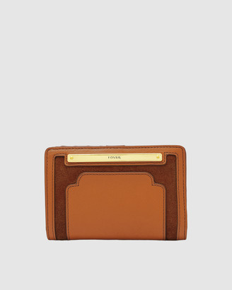 Fossil Liza Brown Wallet