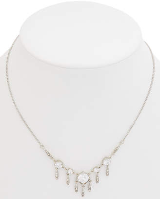 Carolee Social Soiree Cz Frontal Necklace