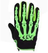Baiyu Men's Skull Skeleton Print Full Finger Sporting Gloves Winter Warm for Cycling Bike Bicycle Motobike Motorcycle