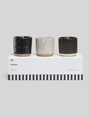 Norden Ceramic Candle Set