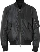 Burberry Reversible Monogram Econyl Jacquard Bomber Jacket