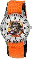 Marvel Boy's 'Civil War' Quartz Plastic and Nylon Automatic Watch, Color: (Model: W003126)