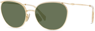 Celine Oval Mineral Lens Sunglasses