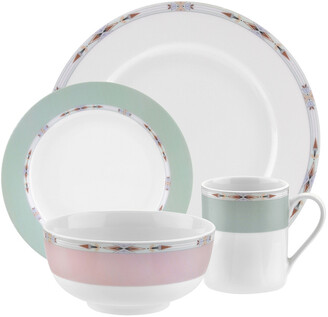 Spode Home Formal Deco 16Pc Dinnerware Set