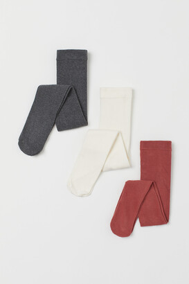 H&M 3-pack Fine-knit Tights