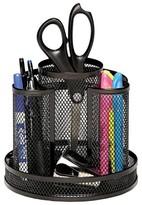 Rolodex Wire Mesh Spinning Desk Sorter - Black