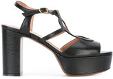 L'Autre Chose platform heel sandals - women - Leather - 38