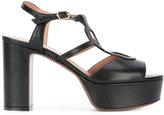 L'Autre Chose platform heel sandals - women - Leather - 40