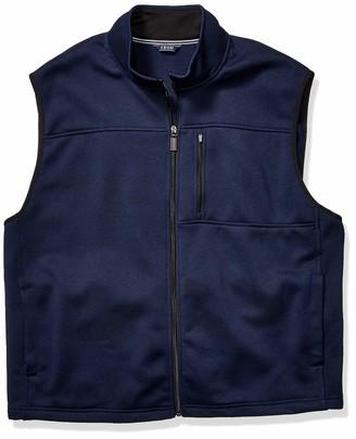 Izod Men's Tall Premium Essentials Fleece Vest