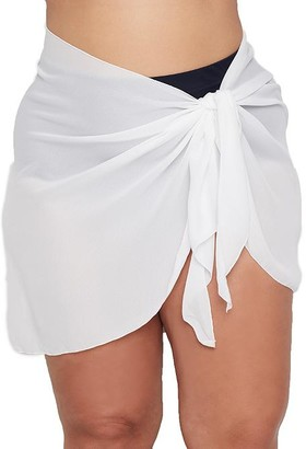 Dotti Plus Size Summer Sarong Short Pareo Cover-Up