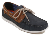 George Leather Boat Shoes