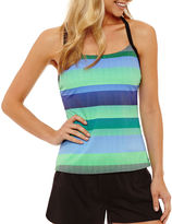 Nike Capsule Collection Stripe Tankini Swimsuit Top