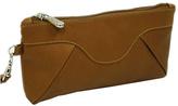 Piel Women's Leather Rainbow Wristlet 2937