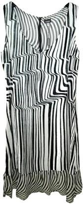 Gianfranco Ferre White Silk Dress for Women