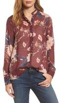 Lucky Brand Women's Floral Print Blouse