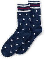 Classic Women's Cozy Socks-Dark Bay Blue