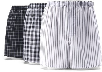 Hanes Big & Tall 3-pack Woven Boxers