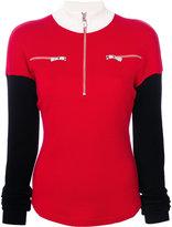Versus zipped collar jumper - women - Wool - 40
