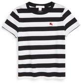 Burberry 'Mini Torridge' Stripe Cotton T-Shirt (Toddler Boys, Little Boys & Big Boys)