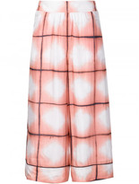 Thakoon printed silk culottes