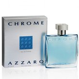 Azzaro Chrome By Loris For Men. Eau De Toilette Spray 3.4 Oz.