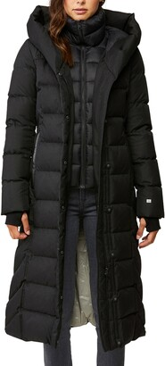 Soia & Kyo Talyse Water Repellent Down Puffer Coat with Bib