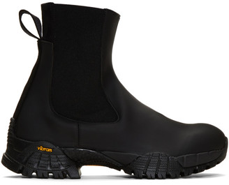 Alyx Black Rubber Sole Chelsea Boots