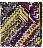 Missoni zig zag print scarf - women - Linen/Flax/Modal - One Size