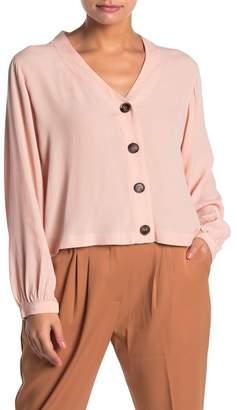 Elodie K Long Sleeve Button Down Shirt