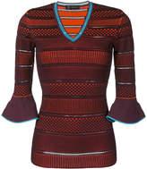 Versace patterned jumper