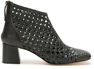 Sarah Chofakian Happiness cut out leather boots