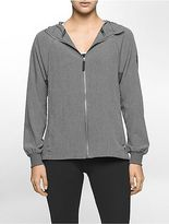 Calvin Klein Womens Performance Stretch Hooded Jacket
